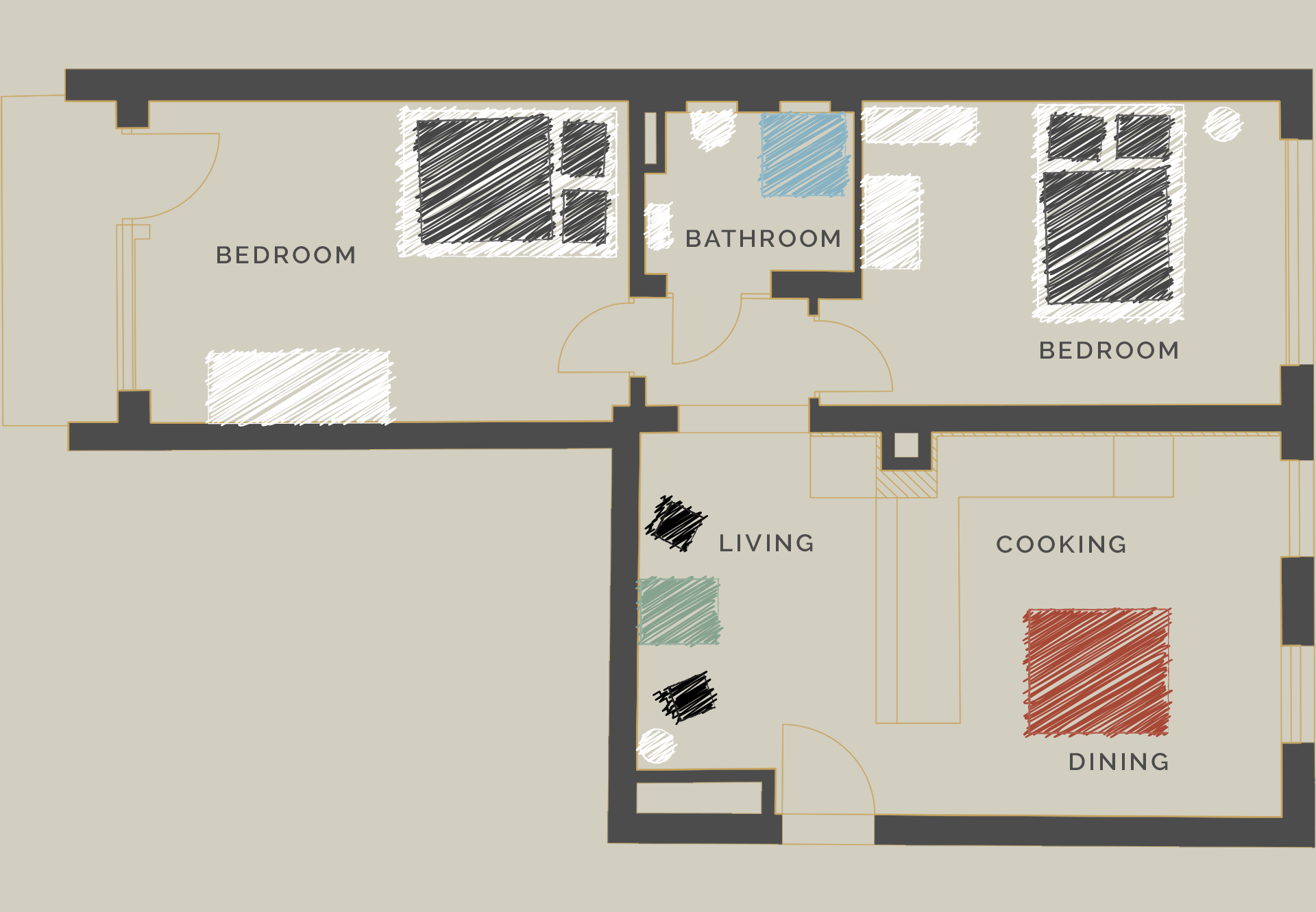 Floor plan version A